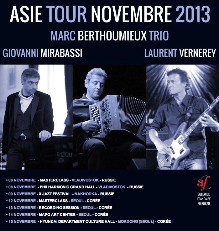 ASIE TOUR NOVEMBRE 2013