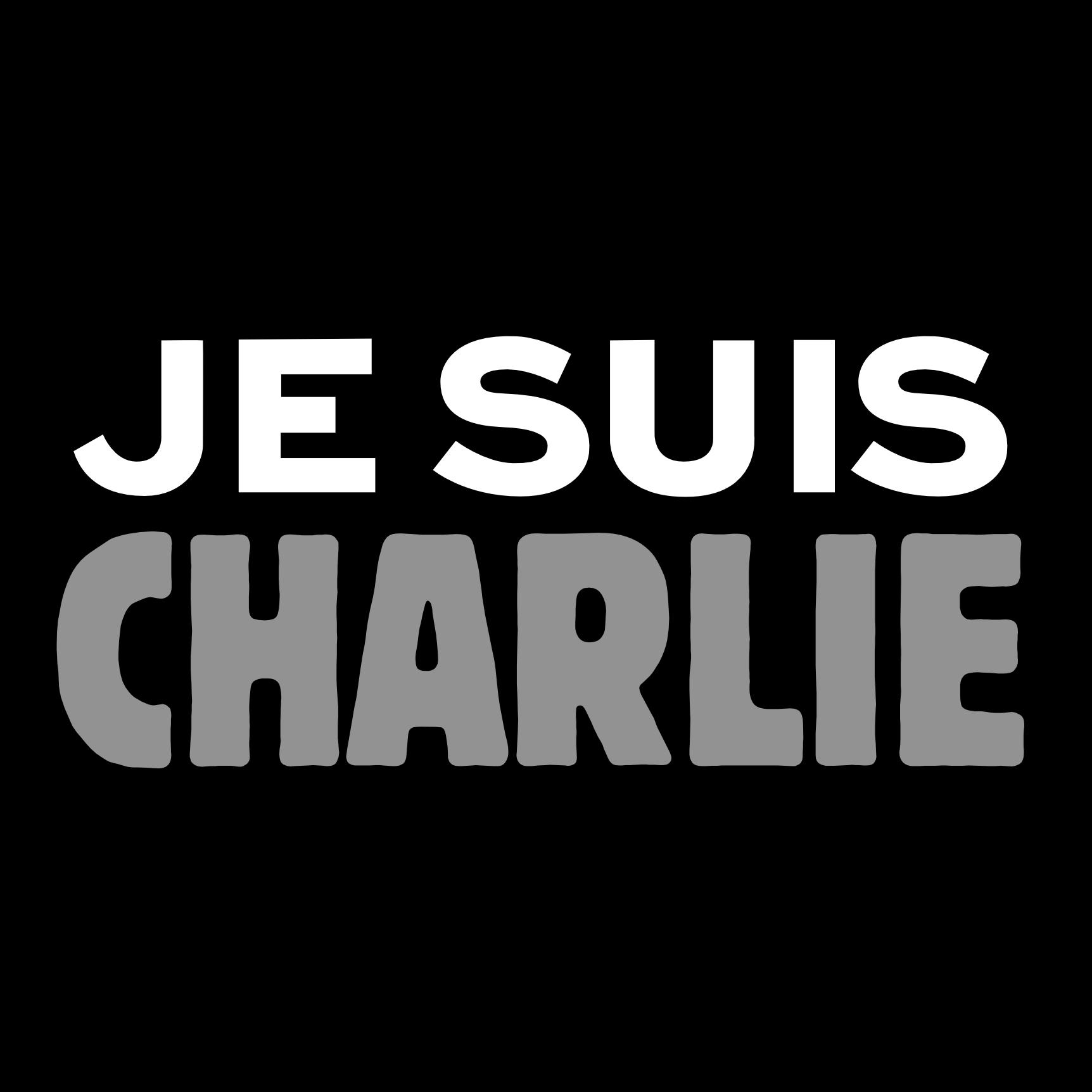 Je suis Charlie Carré