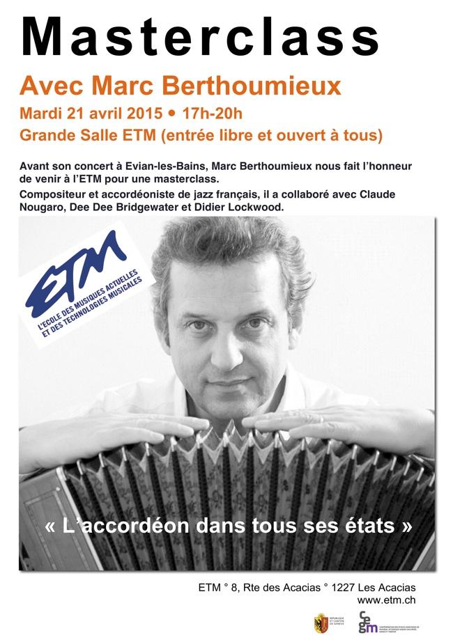 MasterClass ETM Geneve 2015