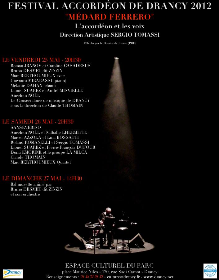 Affiche Drancy 2012